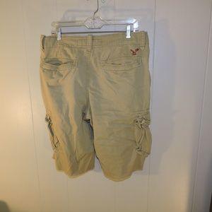 American Eagle Longboard Cargo Shorts 32 Mens